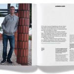 Eric Dier para Rabona Magazine