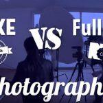 Fotógrafo real vs fotógrafo falso